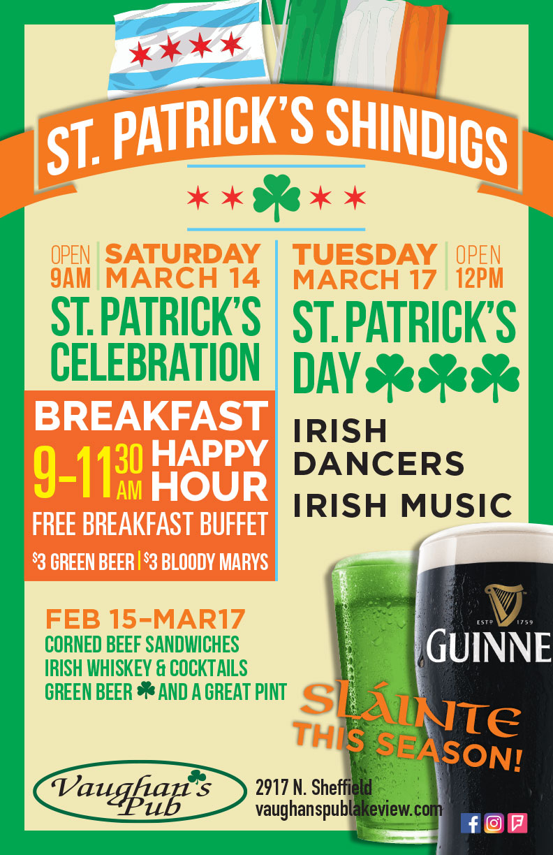 St. Patrick's Day Chicago - Guinness - Green Beer